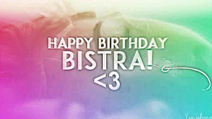 Happy Birthday Bistra!