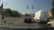 Неправилно пресичане в Пловдив