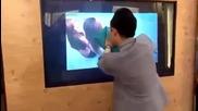 Готин трик с телевизор