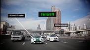 Ето с какви автомобили е оборудвана полицията на Дубай!
