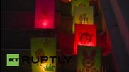 Великобритания: Ден на мира и плаващи фенери отбелязват 70 години след бомбардировката в Нагазаки