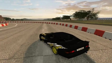 Scrawler drift for freestyle - one lap !