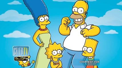 Lena Dunham Behind Marge and Homer Simpson Split?