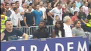 Американка се чуди къде е попаднала - баскетболен мач в Сърбия