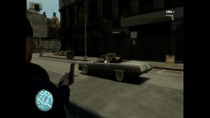 Grand Theft Auto 4 gameplay (lag)