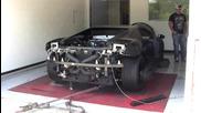 1042 коня Lamborghini Gallardo Superleggera на стенда