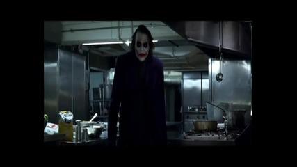The Joker Showing A Magic Trick