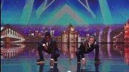 Хлапета танцуват много добре .. Lauren & Terrell - Britain's Got Talent 2014