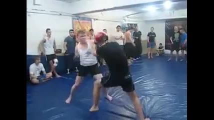 Така се тренира в Русия !