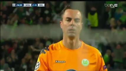 Волфсбург шокира Реал Мадрид със 2:0