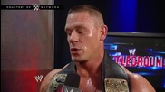 The odds against John Cena successfully defending his title: Wwe Battleground 2014