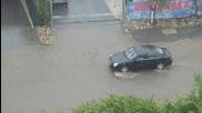 Наводнение след бурята