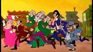 Щастливия Люк Анимация Lucky Luke