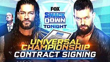 ROMAN REIGNS Y FINN BÁLOR FIRMAN CONTRATO: WWE Ahora, Jul 30, 2021