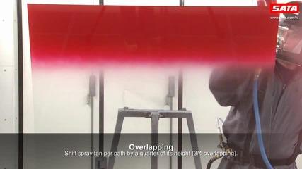 Sata - How to paint correctly