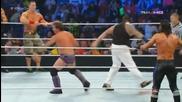 Wwe Friday Night Smackdown 05/09/14 - 10-man Tag Team Match