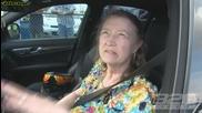 60 годишно бабе на пистата за драг