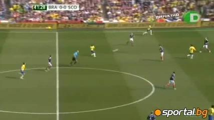 Бразилия - Шотландия 2 - 0