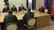 Russia: Putin gives Rogozin a dressing down for loose tie