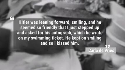 В Шок от Целувката на Американска жена __ Adolf Hitler - Kissed by American woman / Re upload