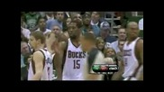 Boston Celtics - Milwaukee Bucks (sat, Apr 10, 2010) репортаж на мача
