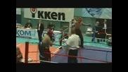kick boxing Христо Манов Ск Аякс Бургас К.о.