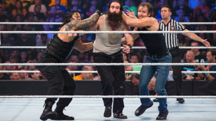 Dean Ambrose & Roman Reigns vs. The Wyatt Family: SummerSlam 2015
