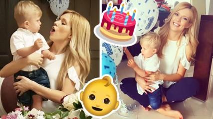 Нели Петкова очарова Instagram със снимки на сина й