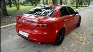 Alfa Romeo 159 Ti Red Black Style