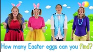 Sing along Easter Bunny Song with lyrics - Bounce Patrol