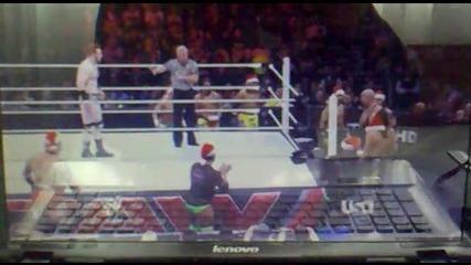 Sheamus vs Big Show (part One)