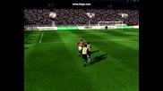 Fifa 09 - Красив бразилски гол на Rooney
