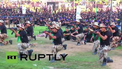 State of Palestine: Al-Qassam Brigades hold ceremony for 'Vanguards of Liberation' graduates