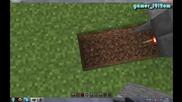 Minecraft Урок №1 - Как се прави пистън врата