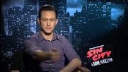 Джоузеф Гордън - Левит в интервю за филма си Град на Греха 2: Жена, за която да убиеш (2014)