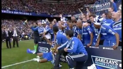 Челси е шампион на Англия!
