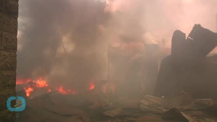 Huge Fire Destroys Nairobi Market