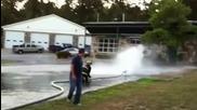 Пожарникарска тренировка - смях