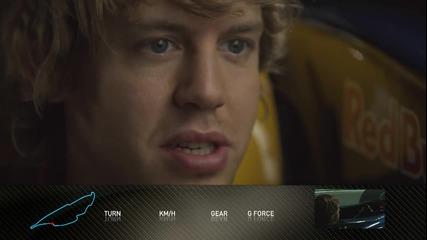 F1 2010 Обиколка от симулатора на Себастиан Фетел [ H D ]