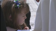 Holy See: Pope Francis blesses 5-yr-old girl losing her sight