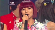 (hd) Today's Winner - Wonder Girls ( Like this) ~ Music Bank (15.06.2012)