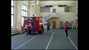 Изпит на пожарникари в Русия