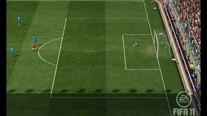 Fifa 11 Online - Поредният страхотен гол на Бербатов