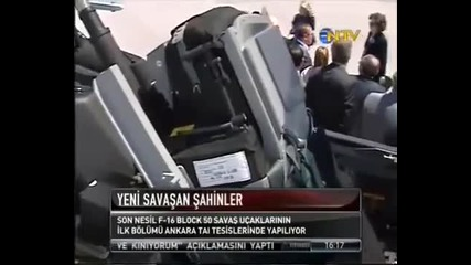 First Turkish F-16 Block 50 Produced by Tai