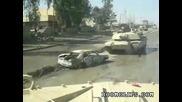 Танк детонира кола бомба !!!