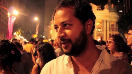 Brazil: Rio turns red as protesters dance and sing in support of Dilma