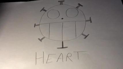 Как да нарисуваме логото на Heart Pirates (one Piece)