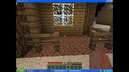 Minecraft - Къщи и други неща.
