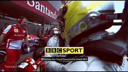 F1 Гран при на Испания 2013 - избрани моменти от квалификациите [hd]