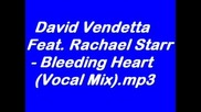 David Vendetta Feat. Rachael Starr - Bleeding Heart (Vocal Mix)